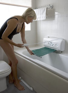 Bath Lift Hydraulic Seat Bathing Aid Retractable Belt